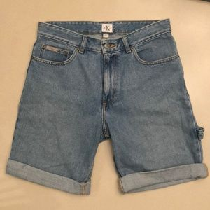 Calvin Klein Vintage Carpenter Shorts